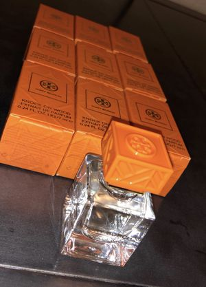 Tory Burch Perfume .24oz Mini's. $10 each or 9 for $80. 100% oil based so stays on skin all day. Floral/Fresh Scent. Great Christmas gifts for Sale in Castro Valley, CA