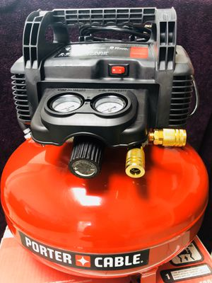 Porter Cable Air Compressor 6Gal for Sale in Anaheim, CA