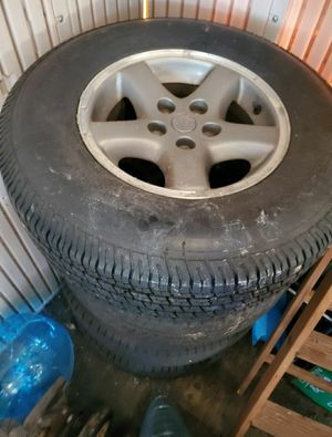 Jeep rims and tires for Sale in Chesapeake, VA