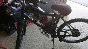 80cc treck mountain bike with motor for Sale in Queen Creek, AZ