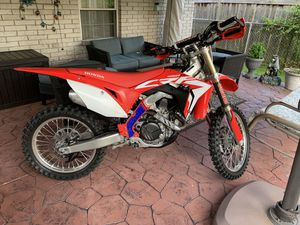 2018 Honda CRF450R (Under 20 hours) for Sale in Dearborn, MI