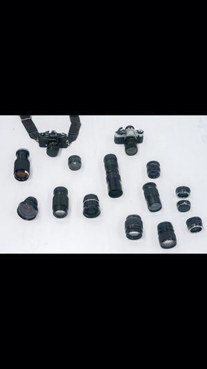Film cameras and lenses for Sale in Miami, FL