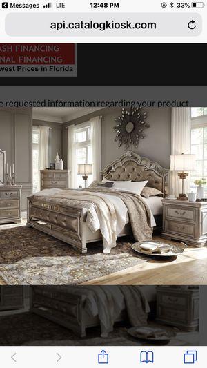 Beautiful Ashley Kingsize Bedroom Set.... for Sale in Tampa, FL
