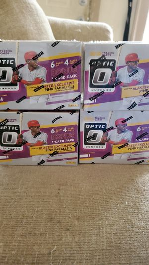 Optic Donruss blaster boxes 4 for 130$ for Sale in New Britain, CT