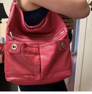 Marc Jacobs Fuscia Leather tote for Sale in Melrose Park, IL