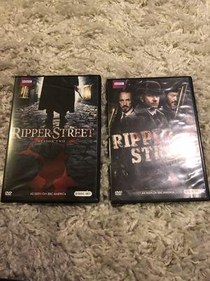 Ripper Street Seasons 1 & 2 on DVD for Sale in Washington, DC