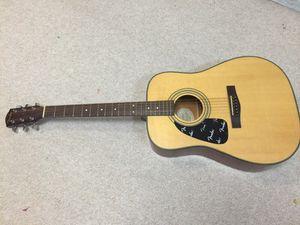 Fender Natural Acoustic Guitar with gig bag for Sale in Rockville, MD