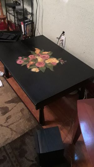 Sentry table antique mahogany for Sale in St. Louis, MO