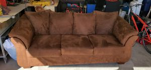Couch, loveseat & 3 pillows for Sale in Phoenix, AZ