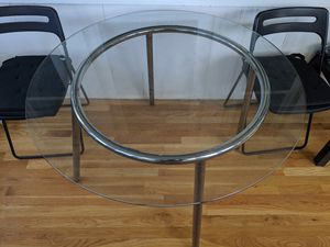 Glass-top breakfast table for Sale in Boston, MA