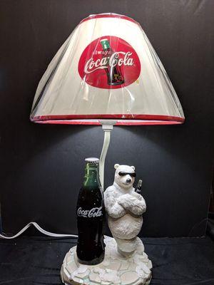 Collectable Rare Vintage Coca-Cola Polar Bear Sunglasses & Coke Light Lamp. for Sale in El Cajon, CA