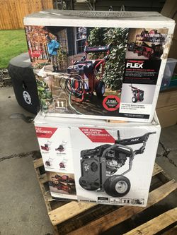 Troy Bilt Flex - Power Base & Pressure Washer Attachment for Sale in Portland,  OR
