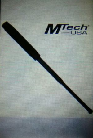 "16"" Black Telescoping Steel Grip Baton for Sale in Columbus, OH"