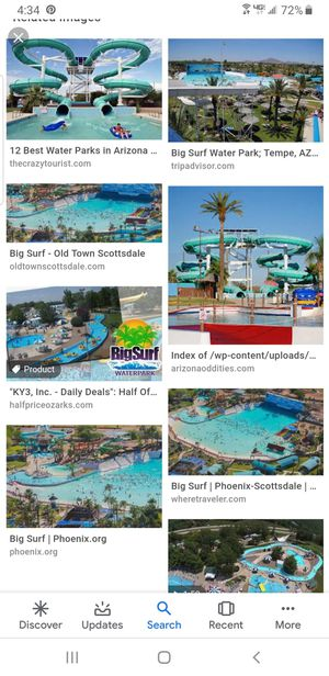 Tickets for big surf season pass pick up only location 48 street and southern $15 each for Sale in Phoenix, AZ