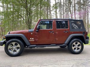 2007 Jeep Wrangler unlimited 4wd for Sale in Salisbury, NC