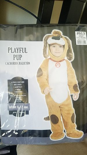 Playful Pup Costume -- 6-12 mo for Sale in Bellflower, CA