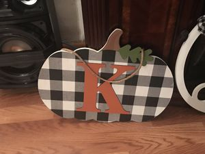 Hanging kitchen decor with initial K for Sale in Davie, FL