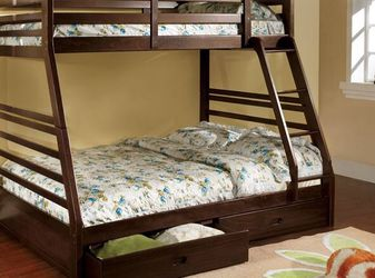 Bunk Bed Twin Over Full Brand New ( Mattress Not Included ) for Sale in Anaheim,  CA