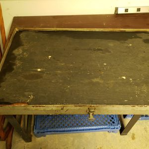 Workbench top With parts bin for Sale in Spring Lake, NJ