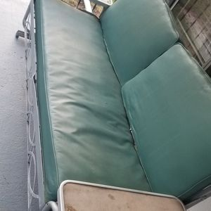 Vintage Aluminum Glider/Daybed for Sale in West Jefferson, OH