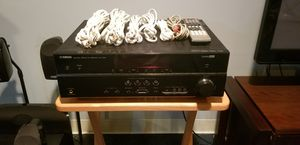 Yamaha receiver and Polk Auto surround sound for Sale in Clinton Township, MI