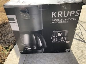 KRUPS espresso and coffee maker for Sale in Maryville, TN