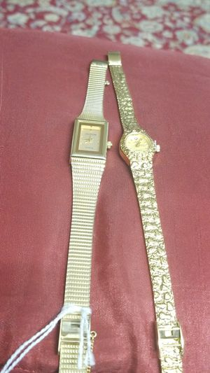 VINTAGE SARAH COVENTRY AND UNITRON GOLD WATCHES for Sale in Springfield, VA