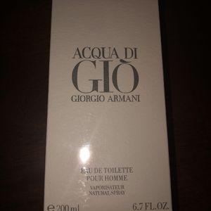 Giorgio Armani Acqua Di Gio 6.7 Oz 200 ML Cologne for Sale in Ontario, CA