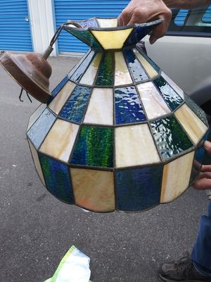 Antique stained glass lampshade for Sale in Auburn, WA