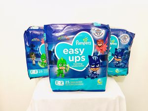 $20 Easy Ups Diapers for Sale in Pittsburgh, PA