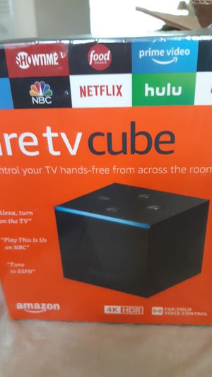 Fire TV cube for Sale in St. Petersburg, FL