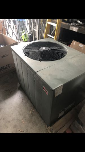 Good working used Ruud/Rheem 4 ton outdoor AC unit with 410 Freon for Sale in Davie, FL