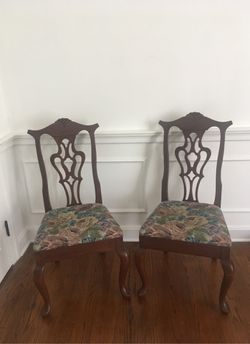 Amana Pierced Back Dining Chairs (2) for Sale in Selma,  AL
