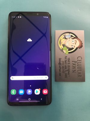 Samsung Galaxy S9 Plus 64GB Unlocked for Sale in Port St. Lucie, FL