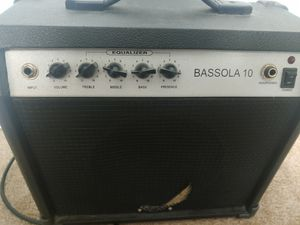 Dean Bassola 10 Bass Practice Amp for Sale in Vista, CA