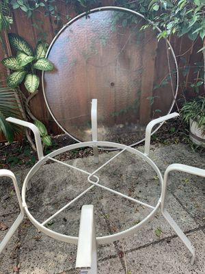 """Glass patio table (60"""") for Sale in Jupiter, FL"""