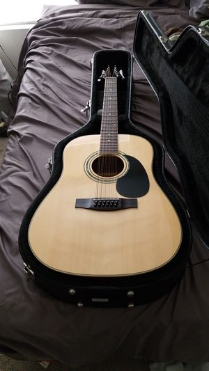 Mitchell 12 string acoustic-electric with Hard Case for Sale in Oceanside, CA