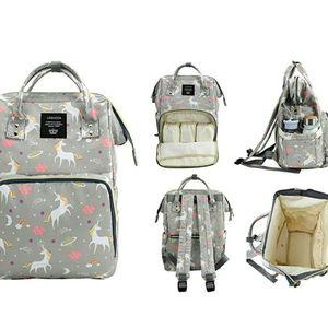 Grey Unicorn Diaper Bag for Sale in San Bernardino, CA