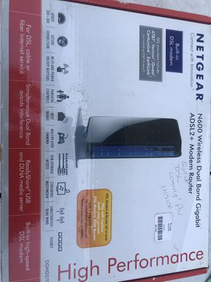 Netgeard N600 Modem and Router for Sale in Fresno, CA