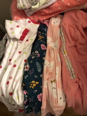 Baby girl clothes newborn —3 months for Sale in Los Angeles, CA