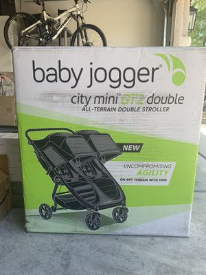 New in box baby jogger city mini GT2 double stroller for Sale in Las Vegas, NV