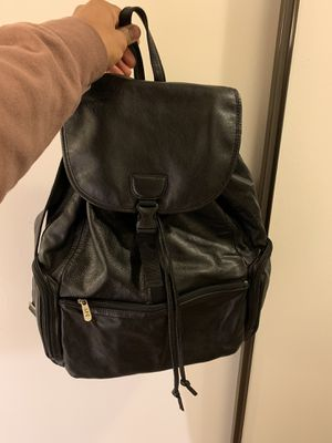 Black leather bag for Sale in San Diego, CA