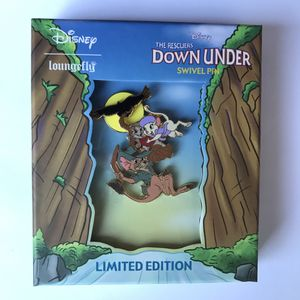 Disney Rescuers Down Under Enamel Pin - Limited Edition New for Sale in Fairfield, CA