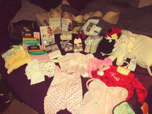 Newborn baby girl clothes and necessities for Sale in Huntington Beach, CA