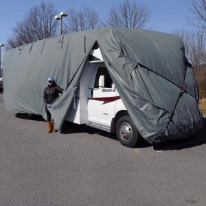 Class C RV cover for Sale in Winston-Salem, NC