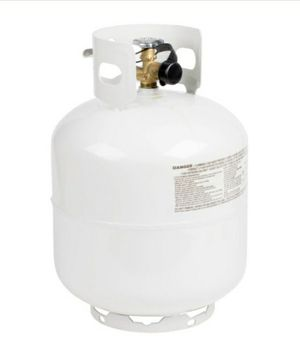 Ready to Use! 20# Refillable Propane tank FILLED w/15# LP for Sale in Aurora, CO