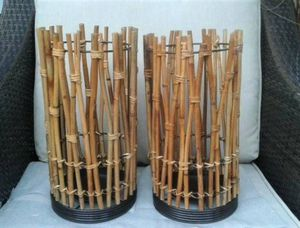 Bamboo Candle Holders Indoor/outdoor for Sale in San Diego, CA