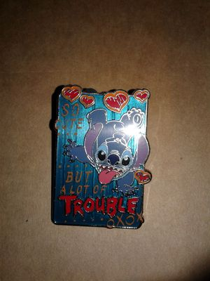 Disney pin trading Stitch for Sale in Downey, CA