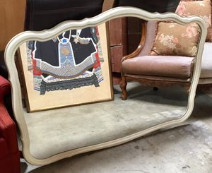 Beautiful Beige Wall Hanging Mirror for Sale in Chula Vista, CA