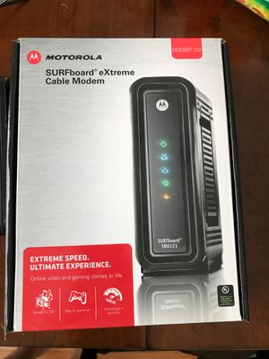 Motorola Cable modem for Sale in Cumming, GA